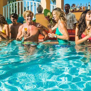Luxury Jamaica Holiday Packages Sandals Negril Pool Bar