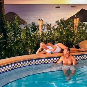 Luxury Jamaica Holiday Packages Sandals Negril Pool Bar 2