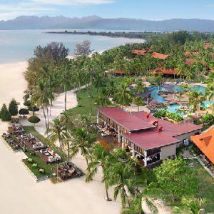 Luxury Langkawi Holiday Packages Meritus Pelangi Beach Resort & Spa Aerial View