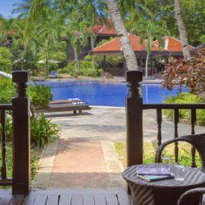 Luxury Langkawi Holiday Packages Meritus Pelangi Beach Resort & Spa Pool Terrace Room2