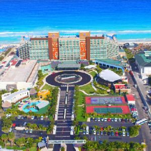 Luxury Mexico Holiday Packages Hard Rock Cancun Aerial