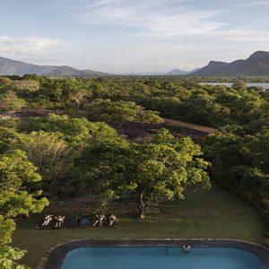 Luxury Sri Lanka Holiday Packages Heritance Kandalama Aerial View