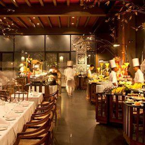 Luxury Sri Lanka Holiday Packages Heritance Kandalama Kanchana Restaurant