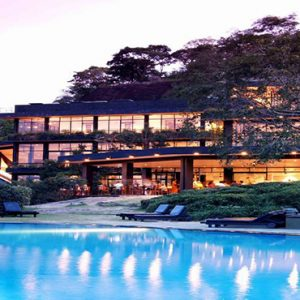 Luxury Sri Lanka Holiday Packages Heritance Kandalama Night View