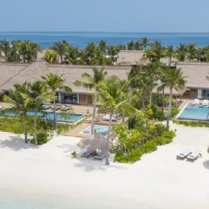 Maldives Holiday Packages Waldorf Astoria Maldives Aerial View