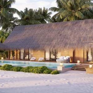 Maldives Honeymoon Packages Waldorf Astoria Maldives Ithaafushi King Beach Villa With Pool 2