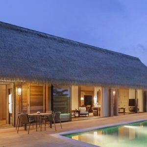 Maldives Honeymoon Packages Waldorf Astoria Maldives Ithaafushi King Grand Beach Villa With Pool