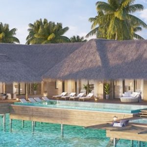 Maldives Honeymoon Packages Waldorf Astoria Maldives Ithaafushi Two Bedroom Reef Villa With Pool