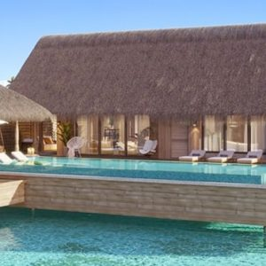 Maldives Honeymoon Packages Waldorf Astoria Maldives Ithaafushi Two Queen Bedded Grand Overwater Villa With Pool