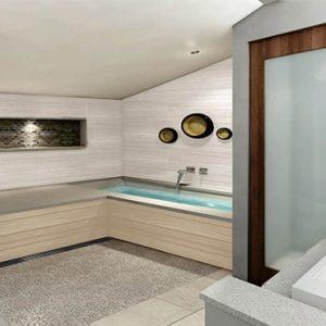 Sandra Negril Jamaica Honeymoon Caribbean Honeymoon Beachfront Two Story One Bedroom Loft Suite W Tranquility Soaking Tub Bathroom