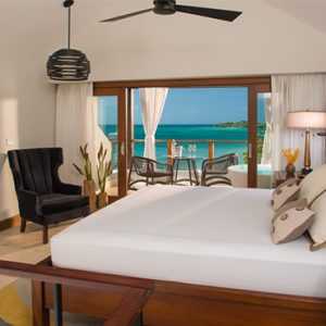 Sandra Negril Jamaica Honeymoon Caribbean Honeymoon Beachfront Two Story One Bedroom Loft Suite W Tranquility Soaking Tub Bedroom