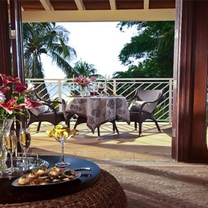Sandra Negril Jamaica Honeymoon Millionaire Honeymoon Oceanview Penthouse One Bedroom Butler Suite Balcony View