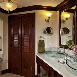 Sandra Negril Jamaica Honeymoon Millionaire Honeymoon Oceanview Penthouse One Bedroom Butler Suite Bathroom