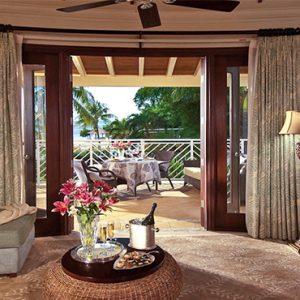 Sandra Negril Jamaica Honeymoon Millionaire Honeymoon Oceanview Penthouse One Bedroom Butler Suite Lounge