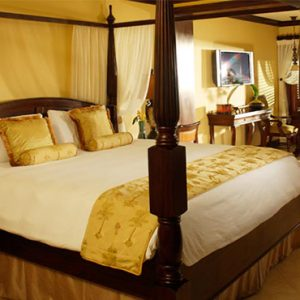 Sandra Negril Jamaica Honeymoon Swim Up Crystal Lagoon Beachfront One Bedroom Butler Suite Bedroom