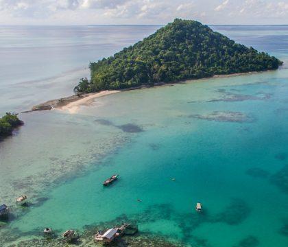 a picture of Borneo