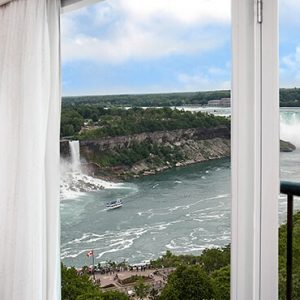 Luxury Canada Holiday Packages Sheraton On The Falls Corner Suite