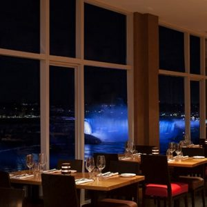 Luxury Canada Holiday Packages Sheraton On The Falls Massimos Italian Fallsview Restaurant