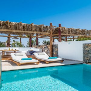 Luxury Greece Holiday Packages Stella Island Crete Island Villa Private Pool 2