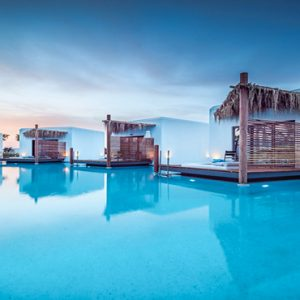 Luxury Greece Holiday Packages Stella Island Crete Over Water Bungalow