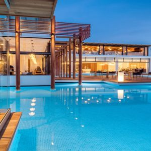 Luxury Greece Holiday Packages Stella Island Crete Cabana Pool Bar1