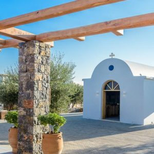 Luxury Greece Holiday Packages Stella Island Crete Church