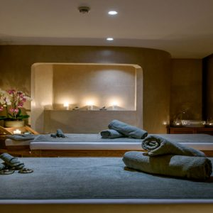 Luxury Greece Holiday Packages Stella Island Crete Couple Spa Treatment Room
