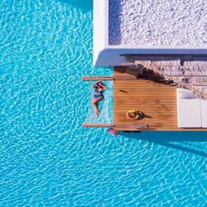 Luxury Greece Holiday Packages Stella Island Crete Pool Aerial View