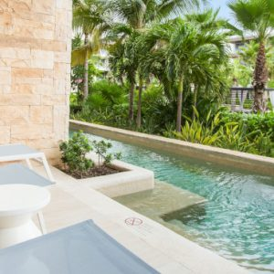 Luxury Mexico Holidays Packages Breathless Riviera Cancun Resort & Spa Xcelerate Junior Suite Swim Out Tropical View2