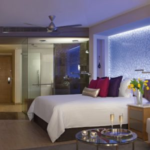 Luxury Mexico Holidays Packages Breathless Riviera Cancun Resort & Spa Xhale Club Junior Suite Ocean View