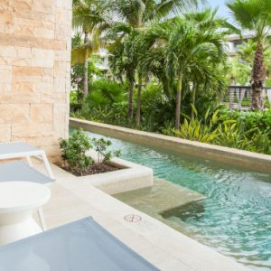 Luxury Mexico Holidays Packages Breathless Riviera Cancun Resort & Spa Xhale Club Junior Suite Swim Out Tropical View1