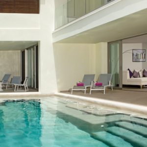 Luxury Mexico Holidays Packages Breathless Riviera Cancun Resort & Spa Xhale Club Presidential Suite Swim Out Ocean Front2