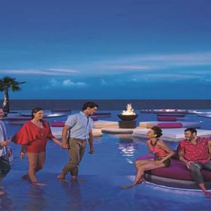 Luxury Mexico Holiday Packages Breathless Riviera Cancun Resort And Spa Exterior At Night1