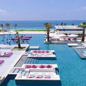 Luxury Mexico Holiday Packages Breathless Riviera Cancun Resort And Spa Outdoor Pool