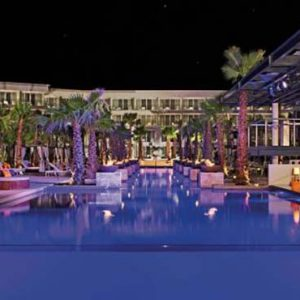 Luxury Mexico Holiday Packages Breathless Riviera Cancun Resort And Spa Pool At Night1