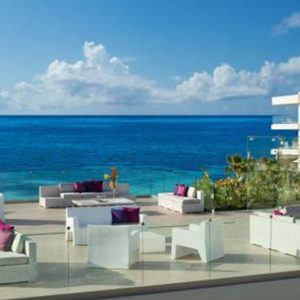 Luxury Mexico Holiday Packages Breathless Riviera Cancun Resort And Spa Purple Roof Terrace