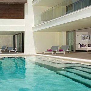 Luxury Mexico Holiday Packages Breathless Riviera Cancun Resort And Spa Suite Pool