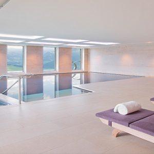 Luxury Switzerland Holiday Packages Hotel Villa Honegg Indoor Pool