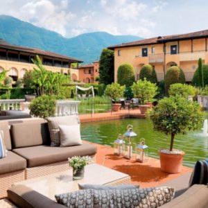 Luxury Switzerland Holiday Packages Giardino Ascona Bar Side