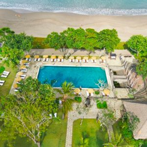 Luxury Bali Holiday Packages The Oberoi Bali Aerial View