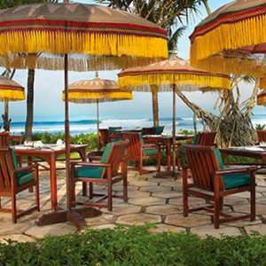 Luxury Bali Holiday Packages The Oberoi Bali Frangipani Cafe Restaurant