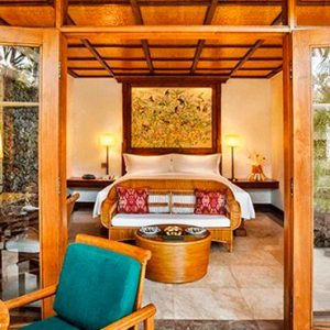 Luxury Bali Holiday Packages The Oberoi Bali Lanai Garden View Room Bedroom