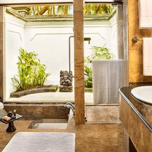 Luxury Bali Holiday Packages The Oberoi Bali Lanai Ocean View Room Bathroom
