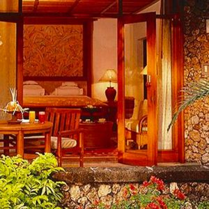 Luxury Bali Holiday Packages The Oberoi Bali Luxury Lanai Partial Ocean View Room Outside View