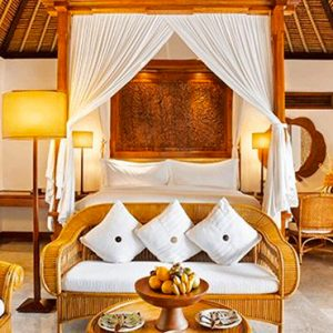 Luxury Bali Holiday Packages The Oberoi Bali Luxury Villa With Garden View Bedroom