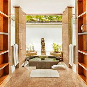 Luxury Bali Holiday Packages The Oberoi Bali Luxury Villas Ocean View With Private Pool Bathroom