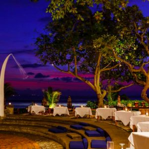 Luxury Bali Holiday Packages The Oberoi Bali Outdoor Dining