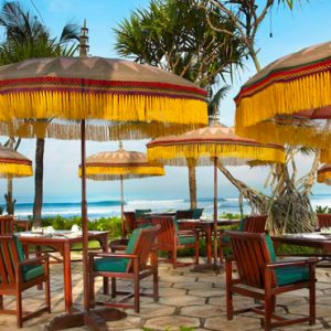 Luxury Bali Holiday Packages The Oberoi Bali Outdoor Dining 2