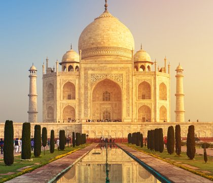 a picture of India