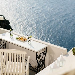Luxury Greece Holiday Packages Oia Mare Villas Aerial View